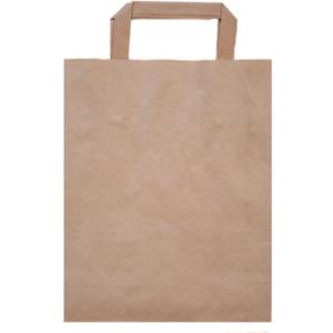 Papiertasche bedrucken braun