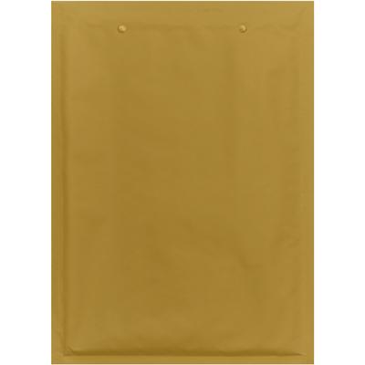 Luftpolstertasche mit Logo in braun